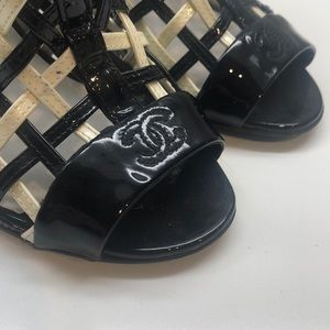 Chanel Caged Booties